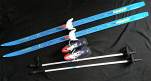 Junior / Youth Cross Country Skis, Boots and Poles