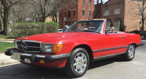 End of summer SALE ! MB 560SL (1986)