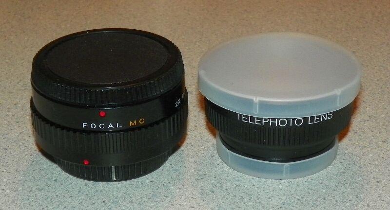 Focal MC 2x Converter 20-06-77 Lens & Telephoto Lens