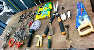 Big Box of Gardening Tools n supplies
