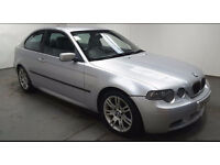 2003(53)BMW 325Ti SPORT COMPACT MET SILVER,LEATHER SEATS,GREAT VALUE