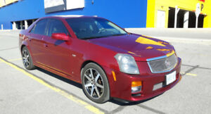 Luxury Sports Sedan...Cadillac CTS-V
