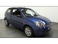 2007(07)FORD FIESTA 1.25 STYLE MET BLUE,LOW MILES,NEW MOT,CLEAN CAR,GREAT VALUE