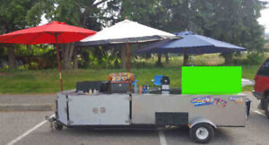 Selling a fully BC approved mobile food concession trailer