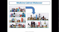WEBINAR - Make Over your Medicine Cabinet - Call from your home