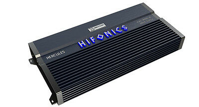 NEW HIFONICS H35-3000.1D 3000 WATT MONOBLOCK SUPER CLASS D CAR AMPLIFIER SUB AMP