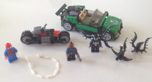 Lego 76004 Super Heroes Spider-Cycle Chase