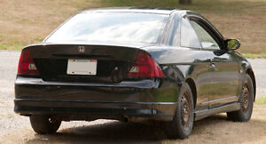 2003 Honda civic Coupe Running for parts or complete Peterborough Peterborough Area image 4