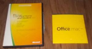 logiciel office anglais 2007 pour windows et 2011 pour mac