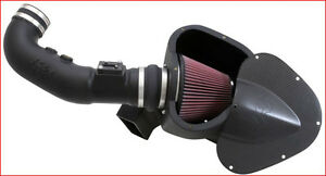 K&N - Air Charger Cold Air Intake Ford Mustang GT 5.0L 11-14