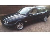 Jaguar x-type Diesel 2004 Estate Green Manual 1 Year MOT