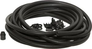 20mm FLEXIBLE BLACK CONDUIT CONTRACTOR PACK With 10 GLANDS & LOCKNUTS