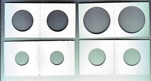 2 X 2 Coin holders $4.00 per 100, Pages $0.40 each