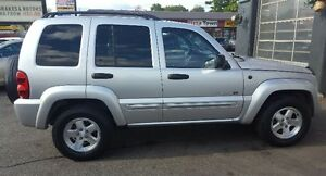 2003 Jeep Liberty Limited SUV, Crossover 2 YRS WAR LOW KM Cambridge Kitchener Area image 9