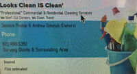 Looks Clean IS Clean' Commercial & Residential Cleaning Service~