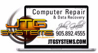 """JTG Systems - Computer Repair and MAC Repair Experts. """"The only"""