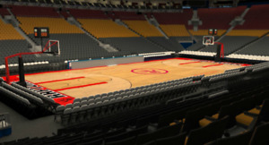 Raptors Tickets (all games) | Section 110 Row 22 (2 seats)