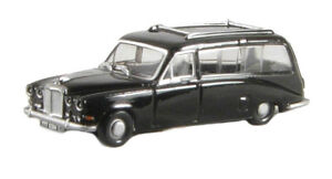 British-Daimler-Black-Hearse-OO-Oxford-Die-cast-76DS002-1-76-U-K