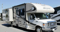 RV Rental - 31ft motorhome with bunk beds