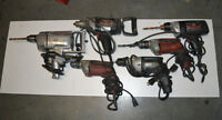 Various Drills/Power Tools