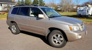 2006 Toyota Highlander Base SUV, Crossover