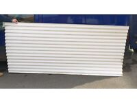 Plastic corrugated roof sheets