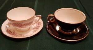 Collectable Tea Cups & Saucers (Minton).