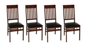 ~BRAND NEW IN BOX~ Wooden Dining Chairs - Set of 4 ~WORTH $380~