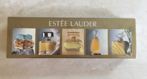 Estee Lauder miniature perfume set - sealed, unopened box