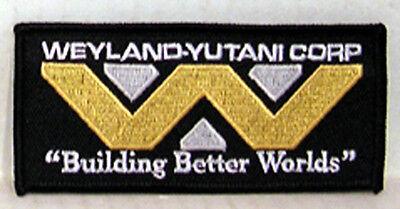 Alien Movie Weyland Yutani Building Better Worlds  4  Uniform Patch  Alpa Webb