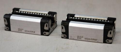 Rexroth R163219320 Linear Guide Bearing Runner Block Qty. 2