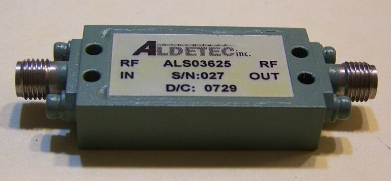 Very nice LNA .05-3GHz 38dB gain, 17dBm P1 (50mW), and 1.5dB N.F. 6M - 2.304GHz!