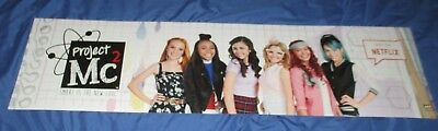 Project Mc2 Toys R Us Exclusive Display Sign  Large 4 X 1   Netflix Tv Series