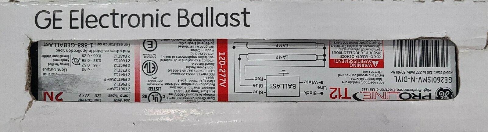GE260-MV-N Electronic Fluorescent Ballast - $14.24