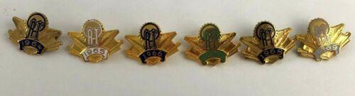 1964-1969 Womens American ORT Jewish Fraternal Association Lapel Dress Pin Lot