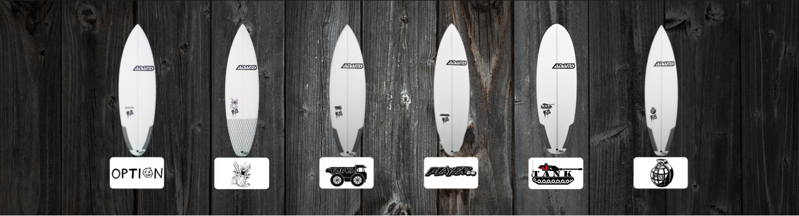 Adams Surfboards