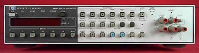 Hp - Agilent - Keysight 3455a Digital Multimeter Bench 6.5 Digits