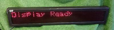 1 Used J Pollard Mfg 6-40 Programmable Led Sign 52 Make Offer