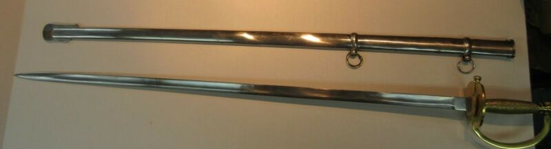 Windlass Model 1840 Non Commissioned Prop Reenactment Officer Sword & Scabbard