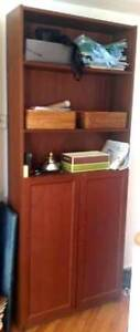 IKEA Medium Brown BILLY/OXBERG Bookcase For Sale!