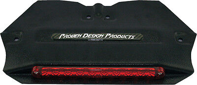 """PDP LED TAILLIGHT W/HOUSING BLACK/RED 10.5""""X5.75"""""""