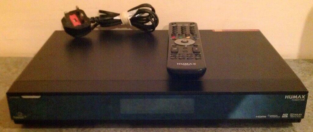 Humax 'Foxsat-HDR' & Humax 'RM-F01' Remote Control (unboxed) | in Reading,  Berkshire | Gumtree