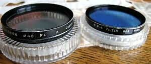 CAMERA LENS FILTERS FOR SALE 37 46 49 52 55 58 62 72mm VGC