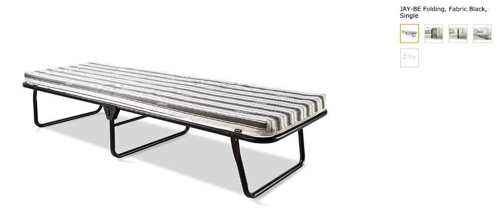 Superb Jay Be Value Folding Bed With Breathable Airflow Mattress In Greenwich London Gumtree Spiritservingveterans Wood Chair Design Ideas Spiritservingveteransorg