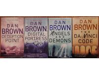 Books - Dan Brown Novels