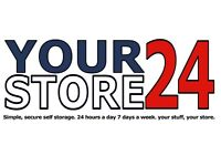 YOURSTORE24 Self Storage- Sittingbourne-24/7 access- from £32pw