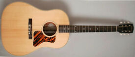 Gibson Acoustic J-35 (Antique Natural) Electric /Acoustic Guitar +Gibson Case