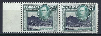 St Vincent 1938 Sc# 145 George Villa Beach pair MNH