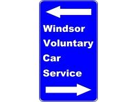 Voluntary Owner/Drivers needed in Windsor Berks Area to take local people to Medical Appointments