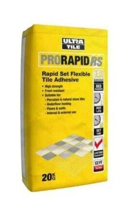 Ultra tile adhesive